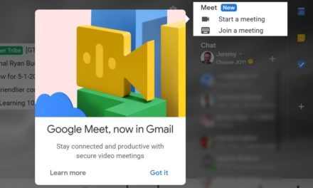 Come nascondere Google Meet in Gmail