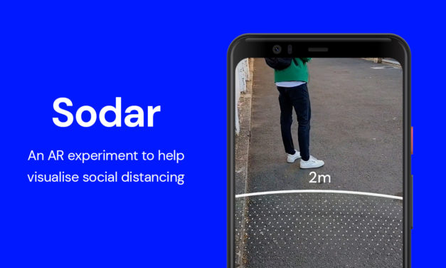 Sodar: L'esperimento di Google che incoraggia il distanziamento sociale attraverso AR