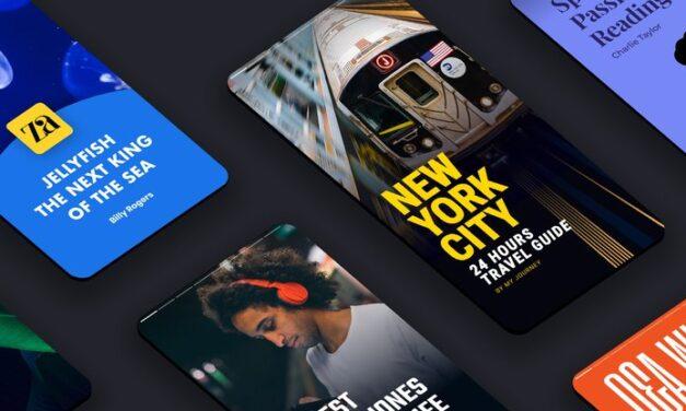 Arrivano le Web Stories di Google nella Ricerca